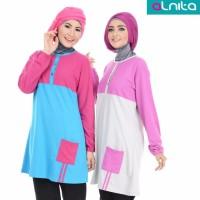 Blouse Muslimah - Alnita AN-AA07 - Trend Busana Muslim Modern