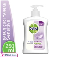 harga Dettol Sabun Cuci Tangan Sensitive Pump 225 Ml Tokopedia.com