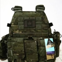 Emerson 6094A With 3 Pouches Multicam Tropic With Dummy Plate