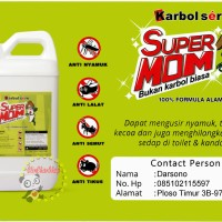 Jual Karbol Sere 5 Ltr Jerigen Pembersih Lantai Anti Nyamuk Serangga Alami Murah