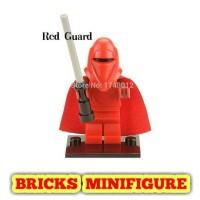 X 203 Red Royal Guard Bricks Minifigure Star Wars X 105