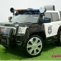Mobil Mainan Aki & Remot JuniorW462 GMC Yukon Denali Police