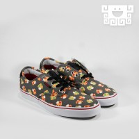 Sepatu Vans x Nintendo Chima Pro Mushrooms, 100% AUTHENTIC
