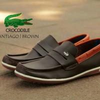 sepatu pria slip on casual santai crocodile