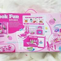 Jual Mainan Masak Masakan Dapur Kitchen Set Barbie Chief Kota Batam Vbzx Tokopedia