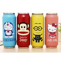 Termos Kaleng Botol Minum Doraemon Kitty Minion