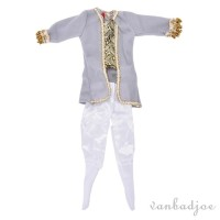 Prince Outfits Ken Baju Boneka Barbie Boy Import Pangeran Doll Setelan