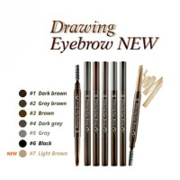 ETUDE DRAWING EYEBROW House Eye Brow + Brush (Pensil + Sikat/Kuas)
