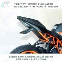harga Tail Tidy - Fender Eliminator Ktm Rc  Dudukan Plat Tokopedia.com