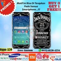 Original Garskin Oppo A39 Motif Jack Daniels - Free Custom Gambar