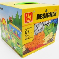 Mainan Edukasi Wange Bricks Lego Classic Free Packing Dus+Plastik