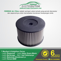 FILTER UDARA FERROX TOYOTA LAND CRUISER 4.2L-4.5L 1990-1997 (0017)