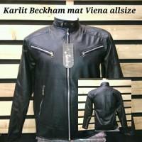 Jaket Beckham Jaket kulit sintetis bomber murah suplier jaket online