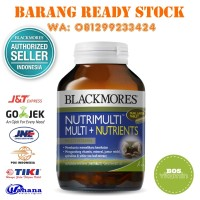 Blackmores NutriMulti Multivitamin + Nutrients BPOM Kalbe - 100 tablet
