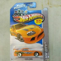 hot wheels toyota supra fast & furious hw ff and wheel honda