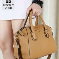 Tas Givenchy Antigona Kepang Gloria Leather Khaki Semprem 2008