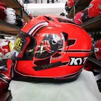 Helm KYT K2 Rider SE Andi Gilang CEV Moto3 2016 Red Fluo Black