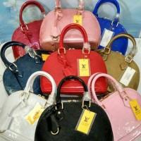 Tas Wanita Branded Berkualitas LV Alma Mini Vernish Handbag Murah