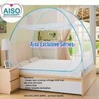 Jual Kelambu Lipat Merk AISO Eksklusif bedcanopy ukuran 180x200cm Murah