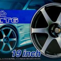 Aoshima tire/wheel set 1/24 Advan Model T6