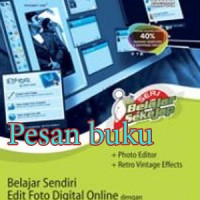 buku Seri Belajar Sekejap: Belajar Sendiri Edit Foto Digital Online De