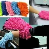 Jual Sarung tangan lap microfiber serbaguna / Multipurpose microfiber cloth Murah