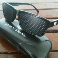 Kacamata Terapi Pinhole glasses tipe Tp-01 (bonus box)
