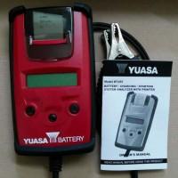 Battery Tester accu \ alat tester aki \ aki yuasa \ BTJ85 with Printer