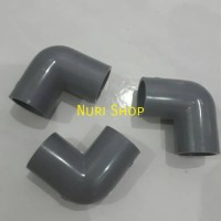 Keni/ knee/ Elbow/ L Pipa PVC 1/2""
