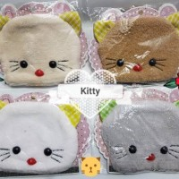 Masker Wajah Penutup Mulut Mouth Mask Karakter Kitty Cat Kucing Import