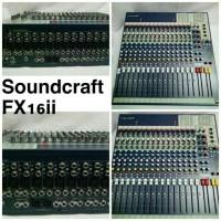 audio mixer soundcraft FX16ii