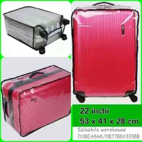 Jual Sarung koper transparan 22 inch Murah