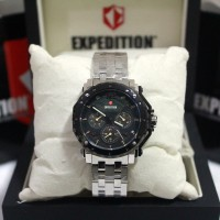 harga Expedition E6402 Silver Black Plat Black Stainless Steel For Ladies Tokopedia.com
