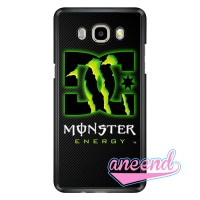 Dc Monster Energy Shoes Carbon Printed Casing Samsung Galaxy J7