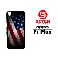 Casing HP Oppo F1 Plus (R9) US Flag Custom Hardcase Cover