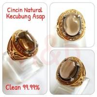 Jual CINCIN NATURAL KECUBUNG ASAP, 99.99% CLEAR Limited Murah