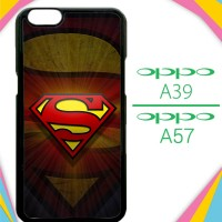 Casing HP OPPO A39 | A57 superman logo Z4094 Custom Case Cover