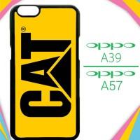 Casing HP OPPO A39 | A57 caterpillar logo Z4461 Custom Case Cover