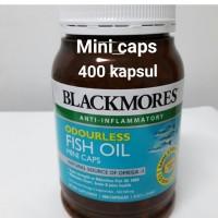 Blackmores Odourless Fish Oil Mini Caps 400 kapsul