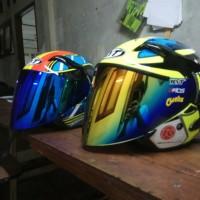 Jual talang air helm KBC THX KYT C5 VENDETTA R10 NHK GP PRO TECH INK CL MAX Murah