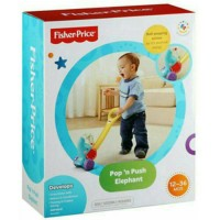 Fisher Price Pop n Push Elephant