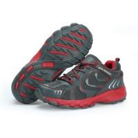 Jual Sepatu Running KETA 193 Grey Red /Jogging/Running/Outdoor Murah