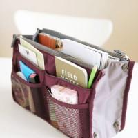 Jual Dual Bag in Bag Organizer Model Korea Tas dalam tas [HHM024] Murah
