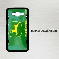 Casing Hp Samsung Galaxy J2 Prime John Deere Logo Metal License X4212