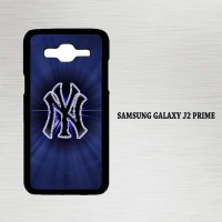 Casing Hp Samsung Galaxy J2 Prime New York Yankees Logo X4525