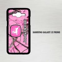 Casing Hp Samsung Galaxy J2 Prime John Deere Pink Camo X4213