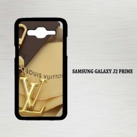Casing Hp Samsung Galaxy J2 Prime louis vuitton logo gold X4442