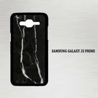 Casing Hp Samsung Galaxy J2 Prime Classy Black Marble X4133