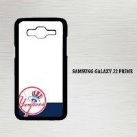 Casing Hp Samsung Galaxy J2 Prime New York Yankees Logo X4404