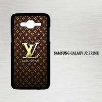 Casing Hp Samsung Galaxy J2 Prime Louis Vuitton Gold X4448
